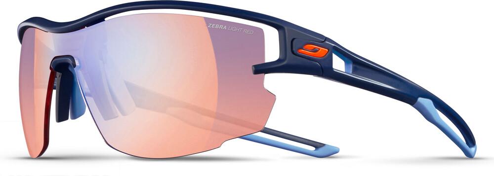 Julbo Aero Zebra Light Red Sunglasses Dark Blue/Blue-Multilayer Blue 2018 Sonnenbrillen VCTKx